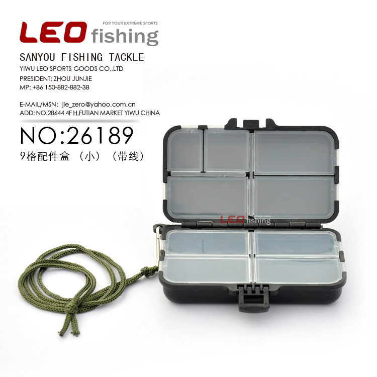 Small Square Box 9 Box Accessories Line Fishing Tackle Gadget