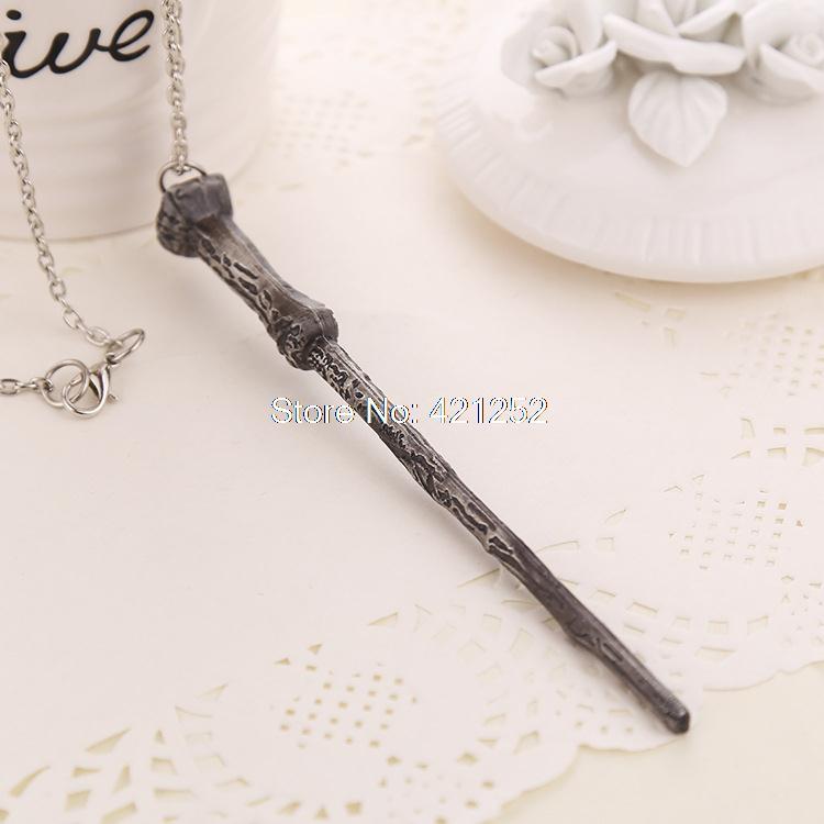 12 шт./лот HP Волшебная палочка ожерелье Christamas