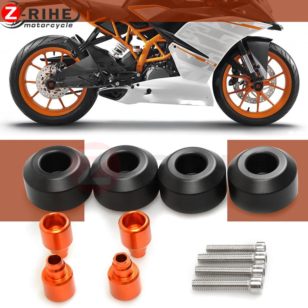 High quality Motorcycle front/rear Wheel Frame Slider Crash bike Protection For KTM DUKE 690 SM 690SM 690 S M 2007-2008