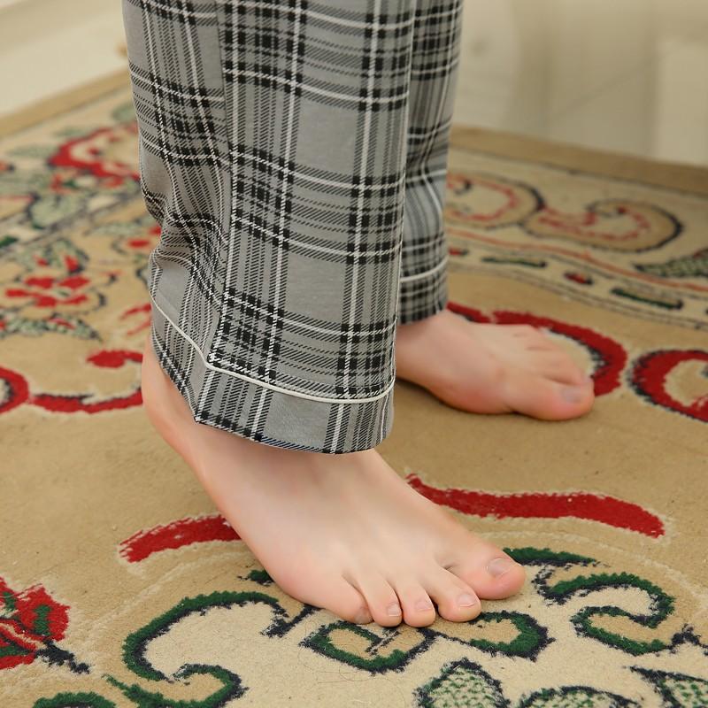 Men\'s Cotton Polyester Pajama Sets RBS-C LYQ1414 8