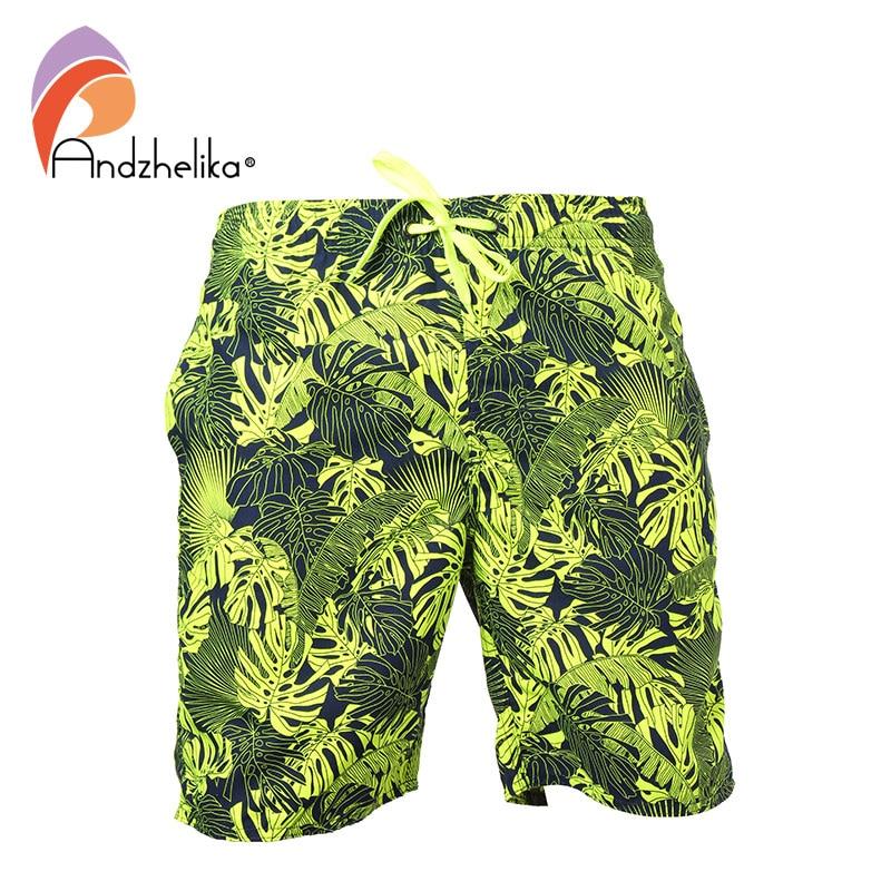 Fifth Harmony Summer Adolescent Men Leisure Quick Dry Surfing Beach Shorts Elastic Band Pocket Drawstring