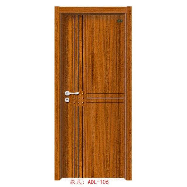Caliente dormitorio minimalista puertas puertas interiores Puertas de madera interiores minimalistas