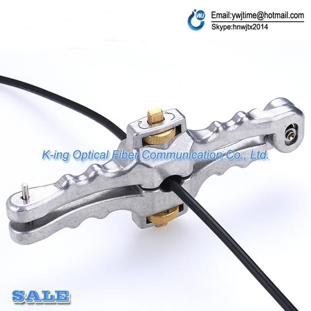 Apertura Longitudinal Cuchillo Longitudinal Cable Vaina Cortadora Cable Stripper SI-01 De Fibra Óptica Envío gratis