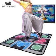 Данных лягушка Non-Slip Танцы для похудения игровой консоли для ТВ для ПК танцевальных площадок ультра-тонкий консолей