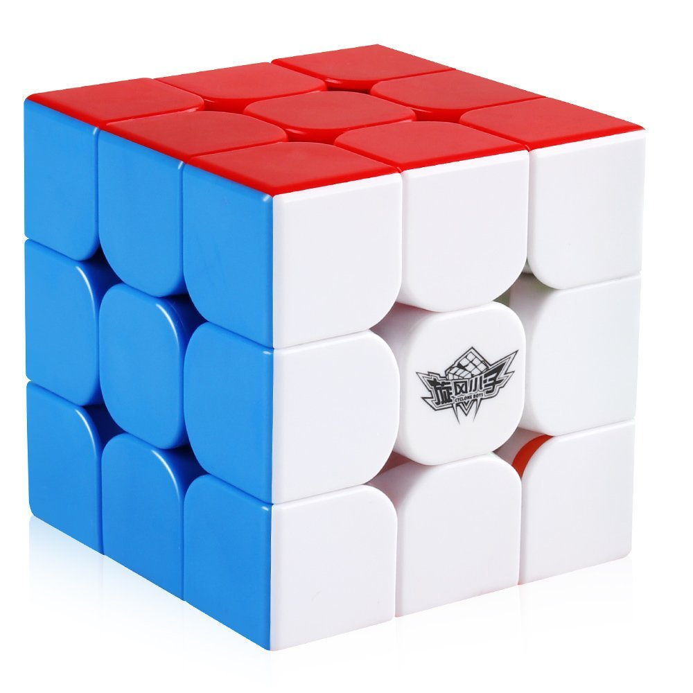 D-FantiX Cyclone Boys 3x3 Magnetic Speed Cube Stickerless 3x3x3 Magic Puzzle Toy (FeiJue Version)