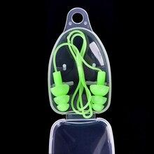 1pc Universal Soft Silicone Swimming Ear Plugs Earplugs Pool Accessories Water Sports Swim Ear Plug 8 Colors