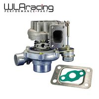WLR GT2870 GT28 GT2871 compressor housing AR 60 turbine a/r .64 T25 flange 5 bolt with actuator Turbocharger turbo TURBO31 64