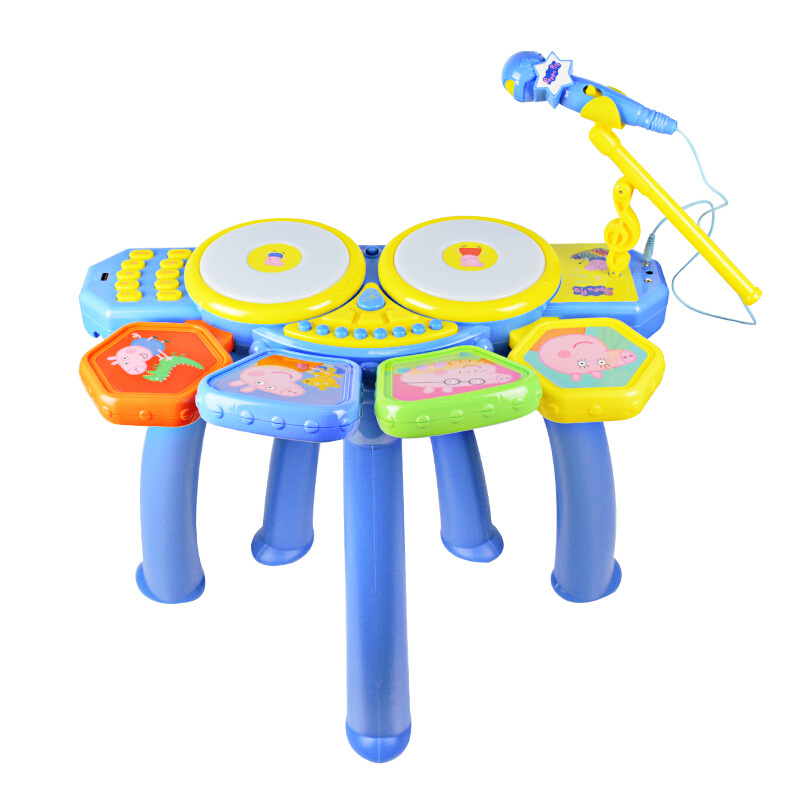 Peppa pig Learning Education Toy Musical Instrument Drum drum children's toys male girl simulation drum baby Toy for children - 2
