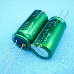 10 шт./30 шт nichicon MUSE 6800 мкФ/16 V 36x18 аудио-электролитический конденсатор с алюминиевой крышкой, медная лапка Бесплатная доставка
