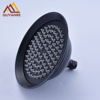 Blackened Rainfall Shower Head 8 Inch Round Shower Haed Without Shower Arm Free Shipping