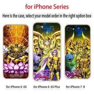 Image 3 - Saint Seiya soft Case for iPhone 12 11 Pro X XS Max XR 8 7 6 Plus 5s SE 2020 S 6.1 Mini Cover