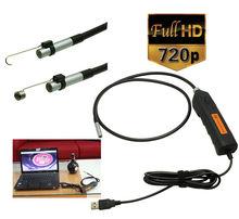 Portátil HD de 2 Mega Píxeles USB Endoscopio Endoscopio Serpiente Inspección de Tubos Cámara