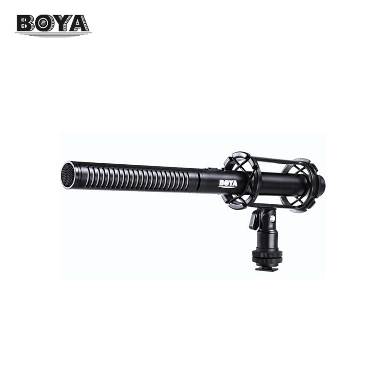 BOYA BY-PVM1000 Professional Microphone for Recording Video for DSLR Cameras Zhiyun Crane Gimbas original new for nihon kohden pvm 2700 pvm 2703 pvm 2701 sb 201p x076 monitor rechargeable battery 12v 3700mah free shipping