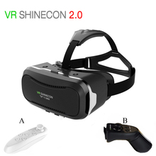 Virtual Reality goggles 3d Glasses VR Shinecon 2.0 II VR Box 3.0 vr Headset Google Cardboard gafas for iPhone/android Smartphone