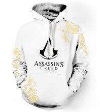 3D impresión película Assassins Creed Hoodies hombres mujeres Hipster  sudaderas con capucha de manga larga Hip Hop Streetwear To. 10ac6be0260