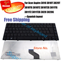 100% new spanish Keyboard for Acer Aspire 3410 3410T 3410G 3810 3810TG 3810T 3815 3820 3820G 3820T 4820 4820G 3750 sp keyboard
