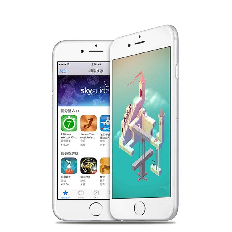 Оригинальный Apple iPhone 6 LTE разблокированный мобильный телефон 1 Гб RAM 16/64/128 ГБ iOS 4,7 '8.0MP двухъядерный WIFI IPS GPS Подержанный телефон - 2