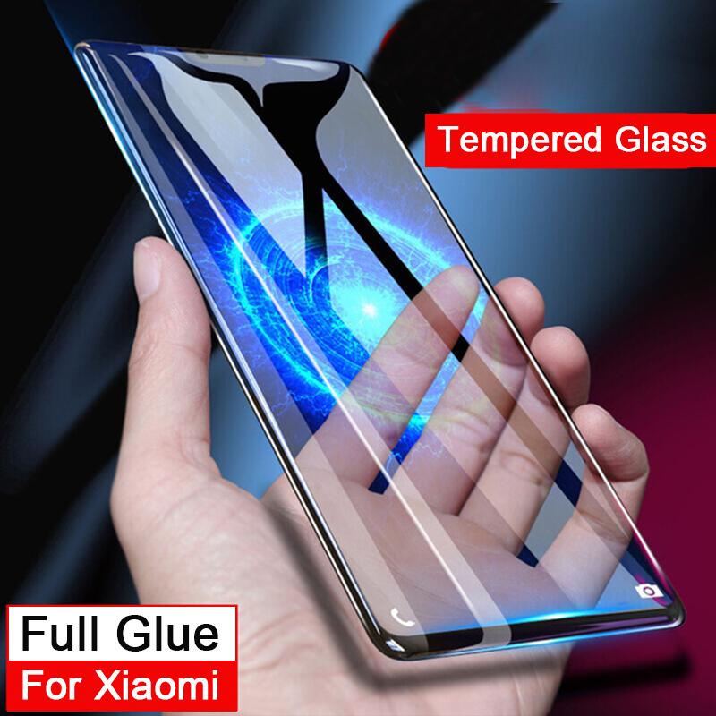 3d full Cover Tempered Glass redmi 4A 4X Full Glue Screen Protecter Curved Edge On Ksiomi