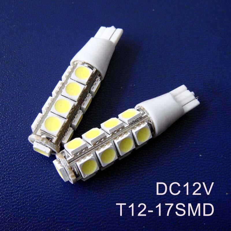 High quality 12Vdc 3w T12 Car led indicator light Signal light Pilot lamps,Auto T12 wedge T12 led bulbs free shipping 5pcs/lot