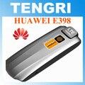 Abierto original de huawei e398 100 100mbps 4g lte módem usb inalámbrico tarjeta de datos usb dongle envío libre