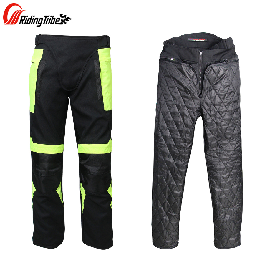 цена на Riding Tribe Men Racing Pants Winter Motorcycle Motorbike Cycling Warm Oxford Pants Summer Breathable Travel Climbing Trousers