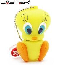 JASTER Looney Tunes usb flash drive 32GB pendrive 16GB 8GB 4GB bugs bunny Daffy duck Cartoon Hot Sale animal pen drive usb 2.0