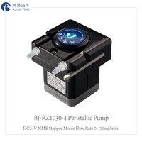 Easy Control High Accuracy 24v peristaltic pump Small Flow