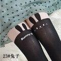 Sexy japão coelho falso coxa alta meias Gipsy joelho Mock alta meias meias calças justas do tatuagem