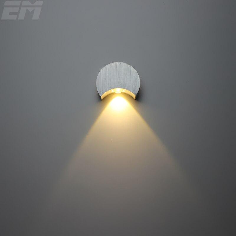 New design Led Spot Light Aluminum 8030mm 3W 90260V Wall
