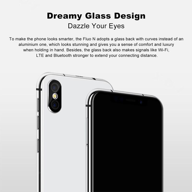 XGODY Fluo N 4G déverrouiller Smartphone 5.7