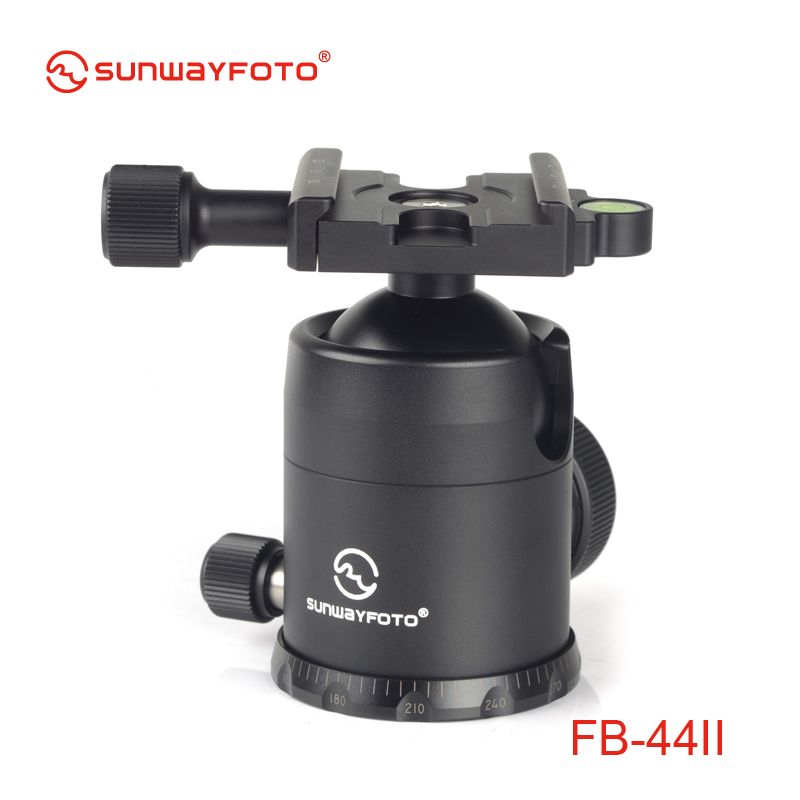 SUNWAYFOTO DSLR Kamera için FB-44II Tripod kafa Tripode Ballhead - Kamera ve Fotoğraf