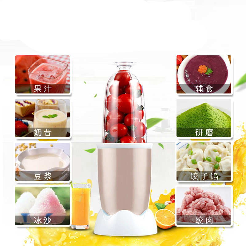 все цены на Blenders The food processor USES small grinding and pulverizing multi-function soybean milk juicer mini baby processor. онлайн