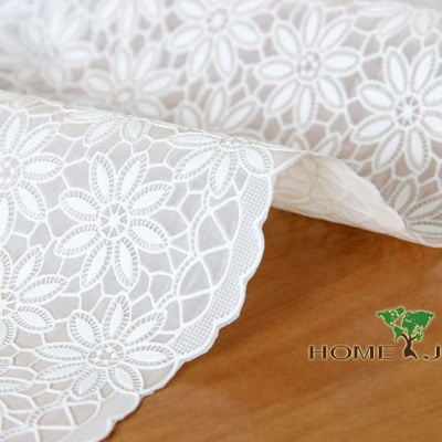 Table cloth waterproof pvc dining table cloth white print plastic tablecloth table cloth oil pollution disposable