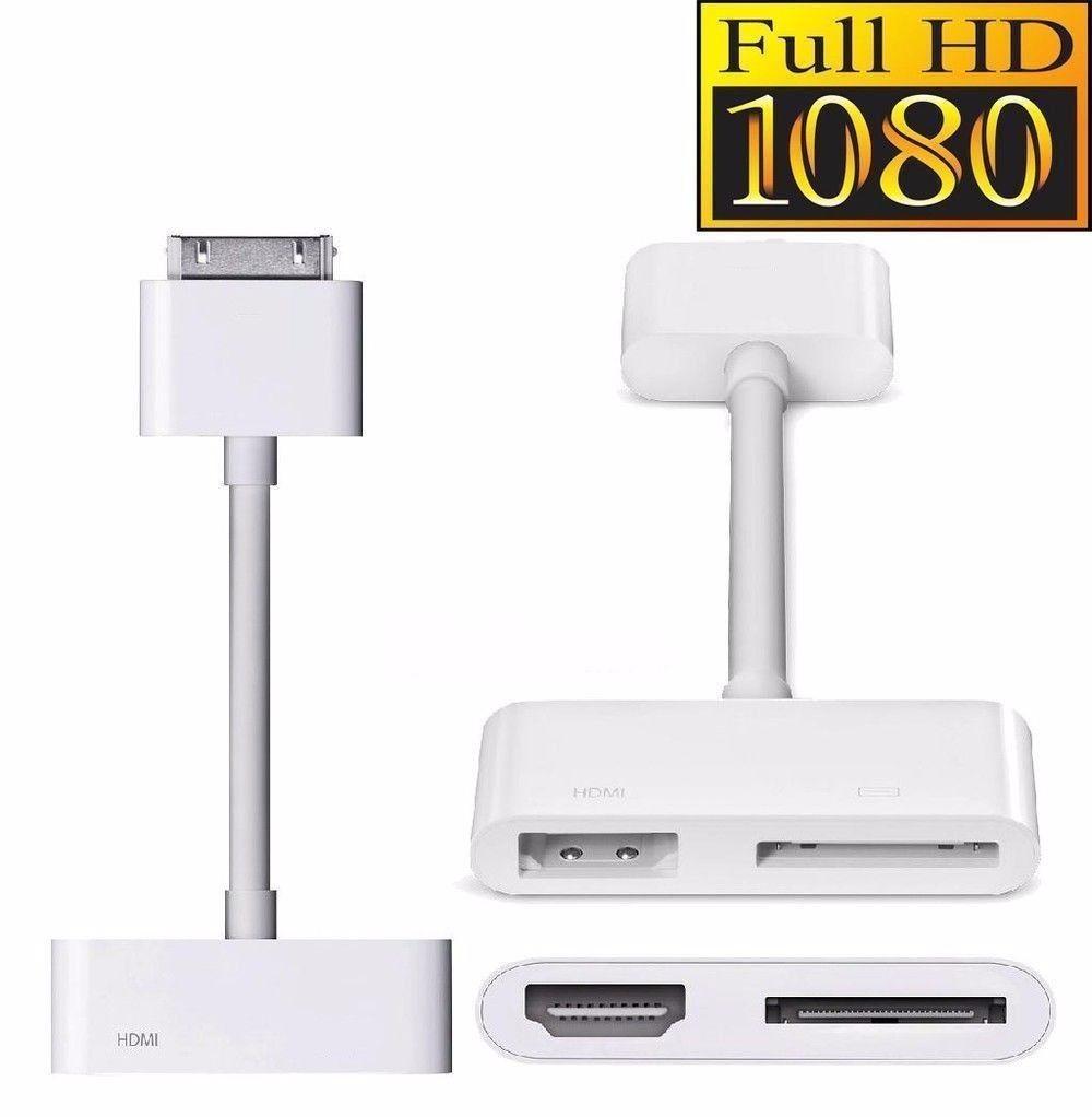 83336517036 Conector Dock a HDMI HDTV TV Cable Adaptador para Apple iPad 2 3 iPhone 4  4S iPod. HTB1rWlXLXXXXXbfapXXq6xXFXXXY