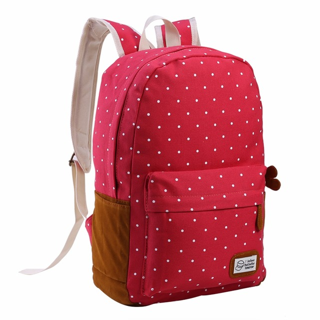 6 Colors Canvas Schoolbag backpack for Teenager Girls Mochila Female Travel  Satchel Rucksack Outdoor Sports Camping Hiking Bags 921c7232a617e