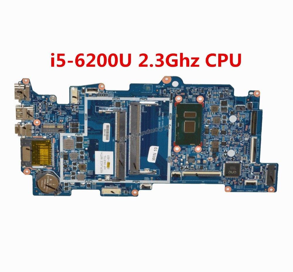 100% Wahr FÜr Hp X360 M6-aq 15-aq Laptop Motherboard Mit I5-6200u 2,3 Ghz Cpu 856279-601 856279-001 448.07n07.002n 100% Geprüft Schnelles Schiff