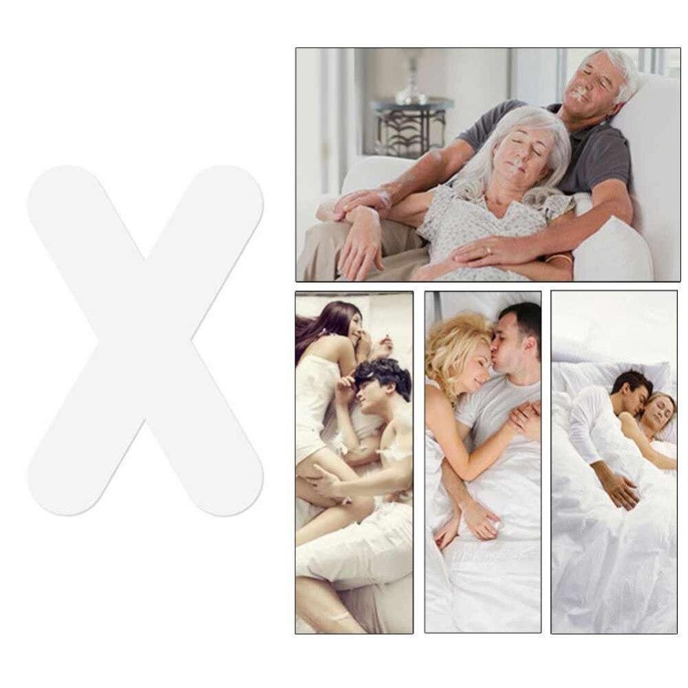 Купить с кэшбэком 30pcs Relieve Snoring Nose Snore Stopping Breathing stickers Sleeping Aid Mini Snoring Device Anti Snoring tool Stopper
