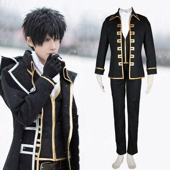 Cosplay uniforme Shinsengumi de Toshiro Hijikata de Gintama Gintama