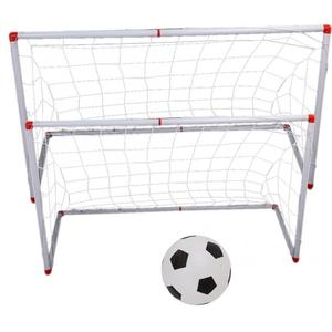 Image 4 - 106/120cm Indoor Outdoor Mini Children Football Soccer Goal Post Net Set with Ball Pump Kids Football Sport Toy Official Size