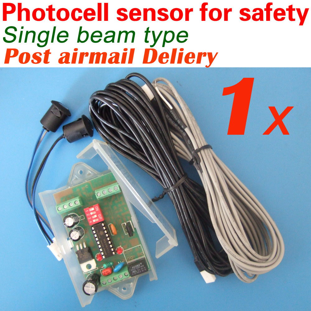 Free Shipping With Post Airmail Automatic Door Safety Beam Sensor (Double Beam)