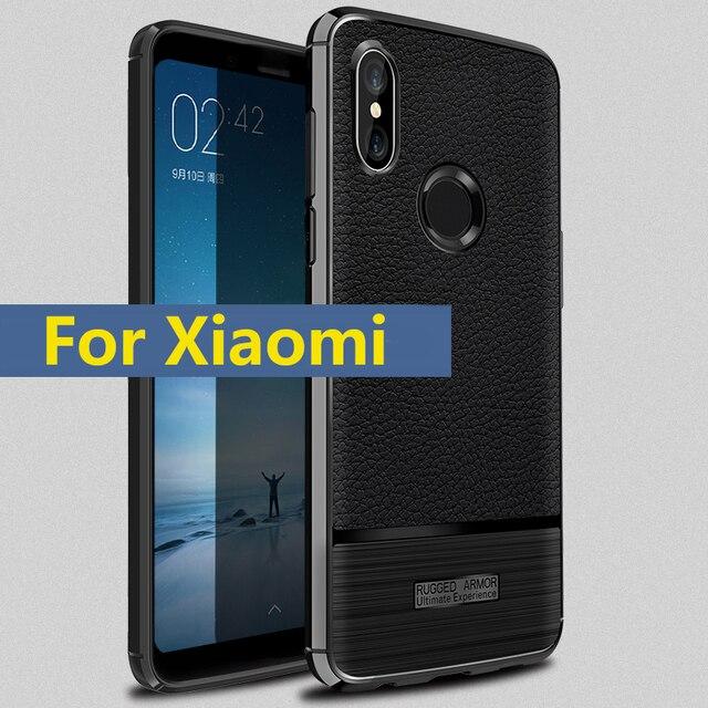 dccaab4d49c Phone Case Silicone Cover On For Xiaomi Mi A1 A2 Lite A2Lite MiA2 Redmi  Note 5 6 Pro Note5 Note6 6Pro S2 3 4 6 32 64 GB Xaomi