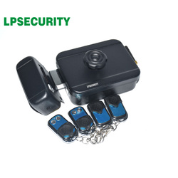 433 Mhz Draadloze Afstandsbediening Elektronische Velgbeveiliging Elektronische Motor Slot Met Afstandsbediening Handvat Gebruik Aa Batterij Sleutel Optioneel