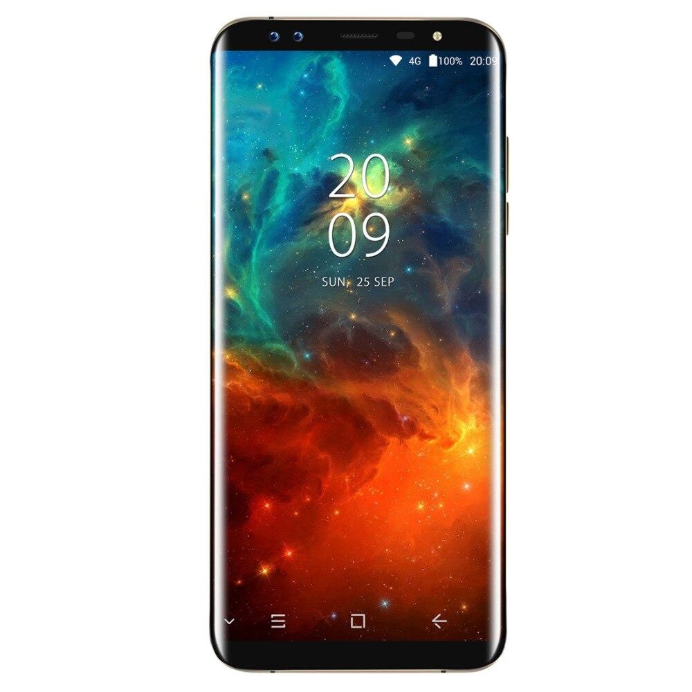 Original Blackview S8 Cell Phone 5.7inch Screen 4GB RAM 64GB ROM MT6750T Octa Core Android 7.0 4G LTE Fingerprint Smartphone