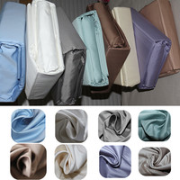 True Luxury 100% Egyptian Cotton Genuine 1200 Thread Count 4 Piece Sheet Set Fits Mattress Up to 16'' Depth