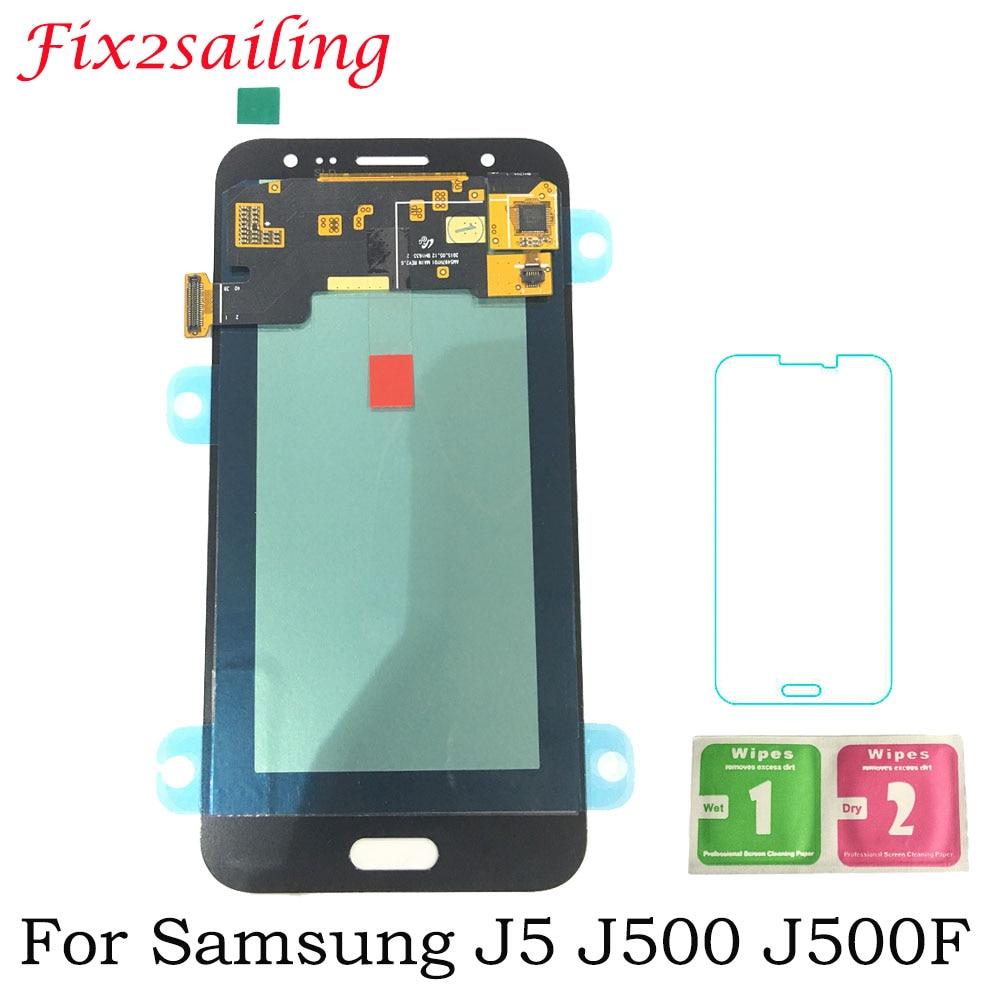 AAA+ Grade Super Amoled LCDS For Samsung Galaxy J5 2015 J500 J500F J500G J500Y J500M J500H LCD Display Touch Screen DigitizerAAA+ Grade Super Amoled LCDS For Samsung Galaxy J5 2015 J500 J500F J500G J500Y J500M J500H LCD Display Touch Screen Digitizer