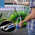 Горячая Распродажа  1 8 м сифон для всасывания гравия  фильтр для аквариума  аквариумный бак  вакуумный обменный уборщик воды  сифон  простой  ...