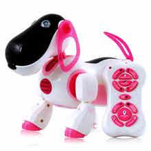 Смарт-образовательные игрушки дистанционного электронная собака электрический смарт интеллектуальный робот собака игрушки