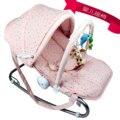 Multifuncional bebé mecedora cuna trona tranquilizar a la mecedora tumbona eléctrica