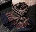 Moda 2015 nuevo otoño comercial de nivel de seda largo de la bufanda hombres bufandas, tipo Multi optional160 * 30 cm