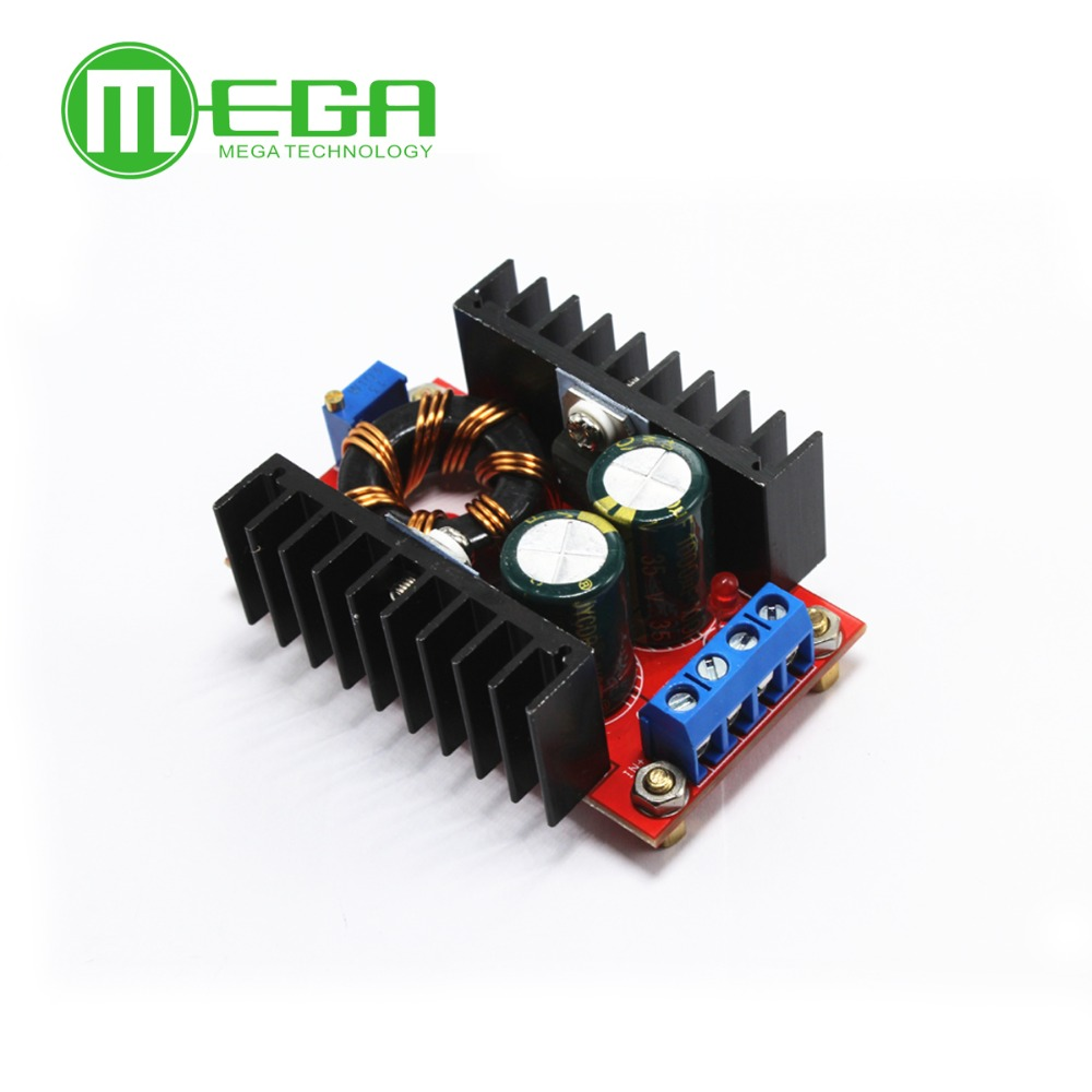 100% work good <font><b>150W</b></font> <font><b>Boost</b></font> <font><b>Converter</b></font> DC-DC 10-32V to 12-35V Step Up Voltage Charger Module image